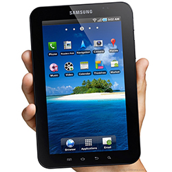 Galaxy Tab P1000 tablet